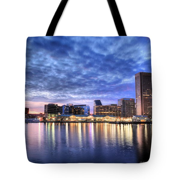Ah Baltimore Tote Bag by JC Findley