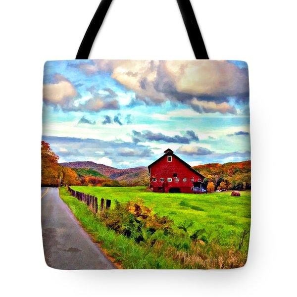 Ah...West Virginia oil Tote Bag by Steve Harrington