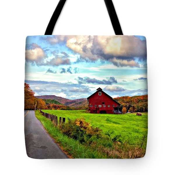 Ah...West Virginia painted Tote Bag by Steve Harrington
