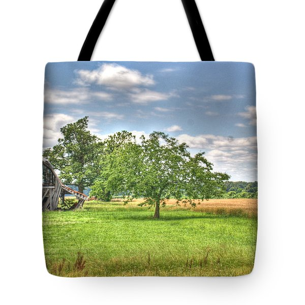 Air Conditioned Barn Tote Bag by Douglas Barnett