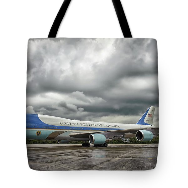 Air Force One Tote Bag by Mountain Dreams