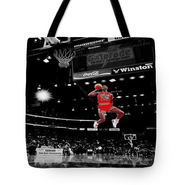 Air Jordan Tote Bag by Brian Reaves