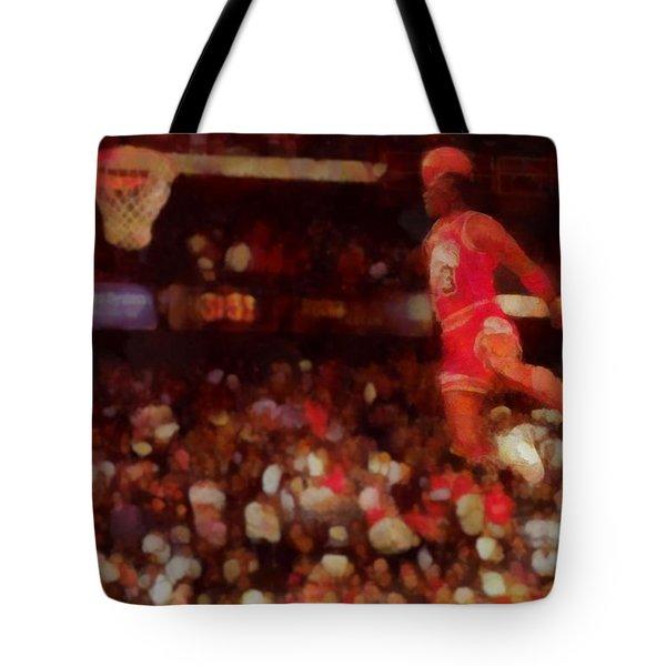 Air Jordan Tote Bag by Dan Sproul