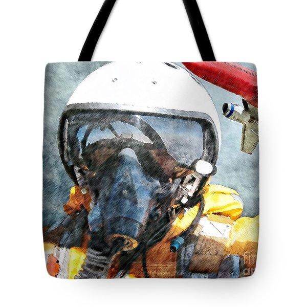 Air Pilot Tote Bag by Liane Wright