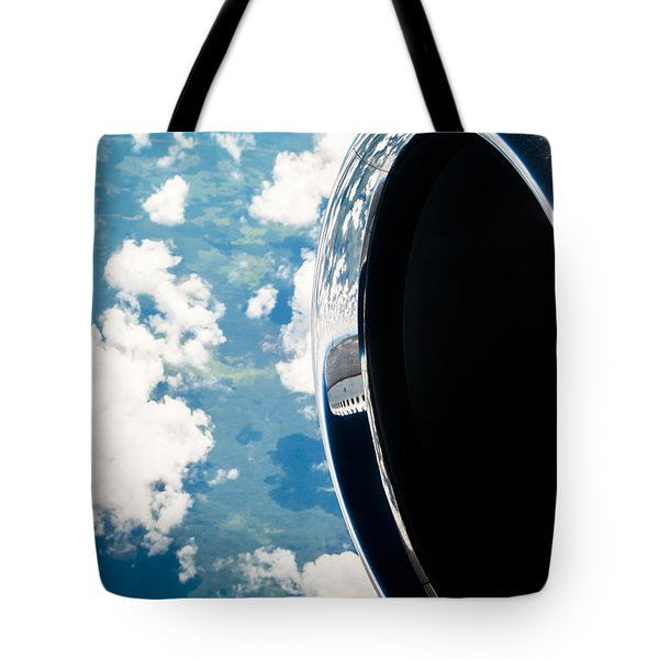 Tropical Skies Tote Bag by Parker Cunningham