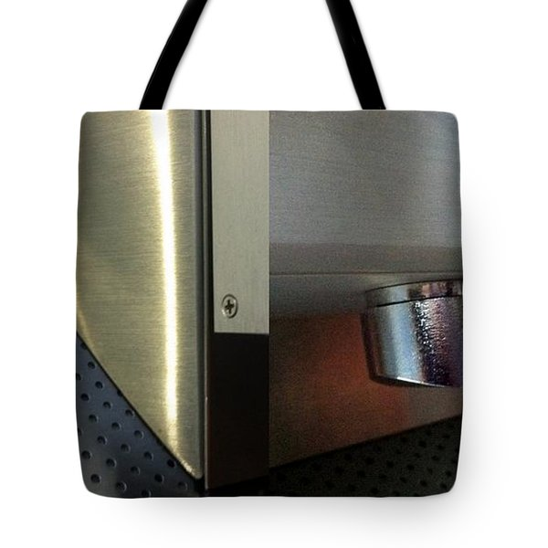 Airport Diptych Tote Bag by Marlene Burns