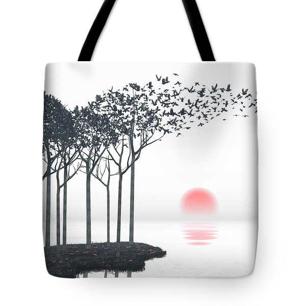 Aki Tote Bag by Cynthia Decker