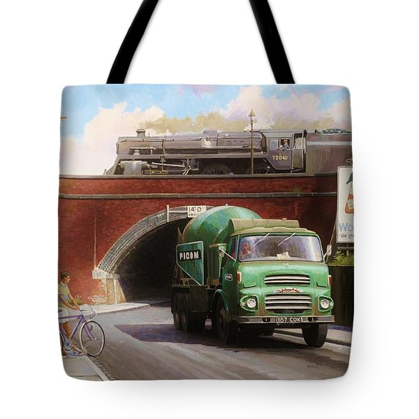 Albion Mixer. Tote Bag by Mike  Jeffries