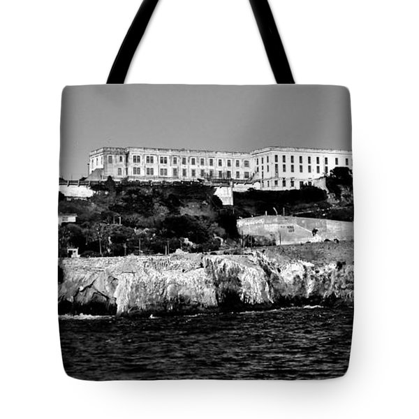 Alcatraz Federal Prison Tote Bag by Benjamin Yeager