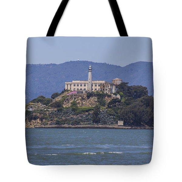 Alcatraz Island Tote Bag by John McGraw