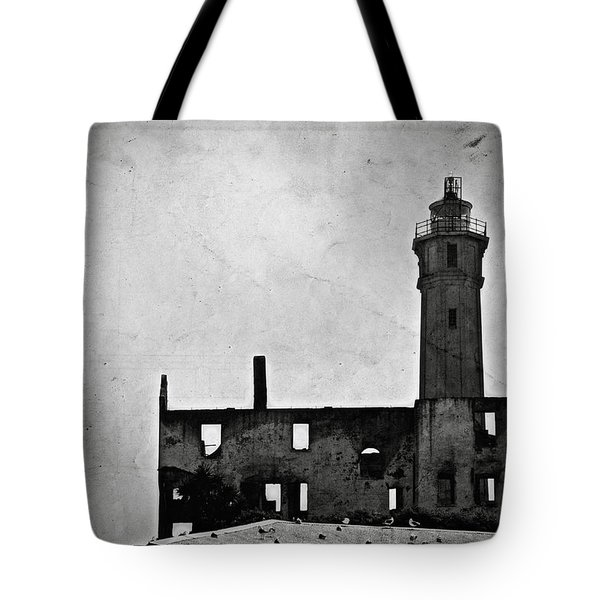 Alcatraz Island Lighthouse Tote Bag by RicardMN Photography
