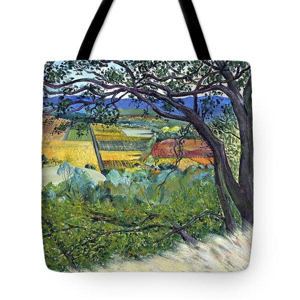 Alexander Valley Vinyards Tote Bag by Asha Carolyn Young