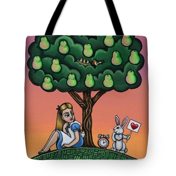 Alicia Time For Love Tote Bag by Victoria De Almeida