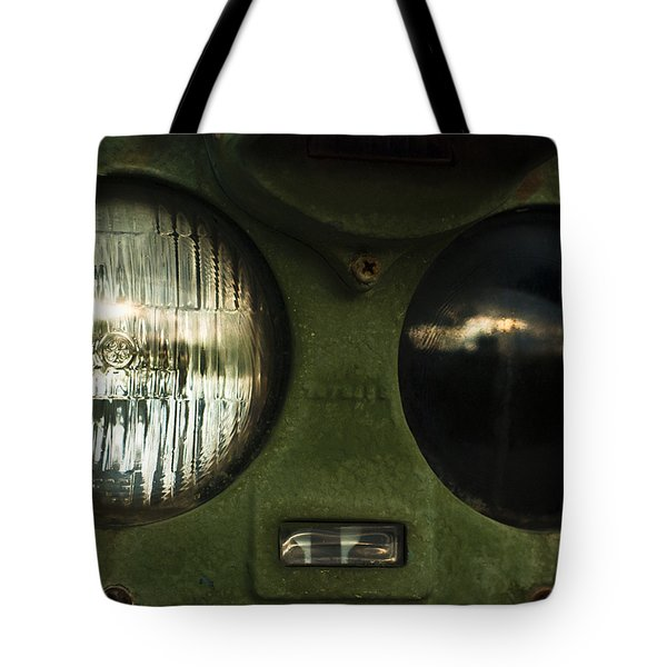 Alien Eyes Tote Bag by Christi Kraft