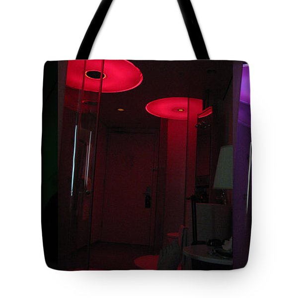 Alien Invasion. Hotel Citizenm. Amsterdam Airport Tote Bag by Ausra Huntington nee Paulauskaite