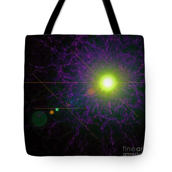Alignment Tote Bag by First Star Art