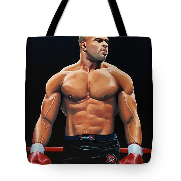 Alistair Overeem Tote Bag by Paul  Meijering