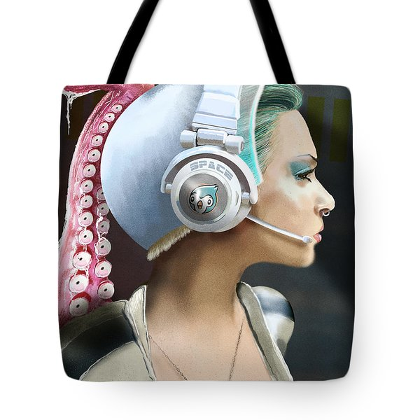 All Clear Roger That Tote Bag by Jason Longstreet