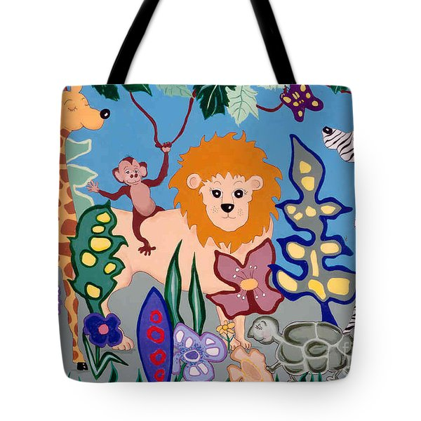 All Creatures Great And Small Tote Bag by Joyce Gebauer