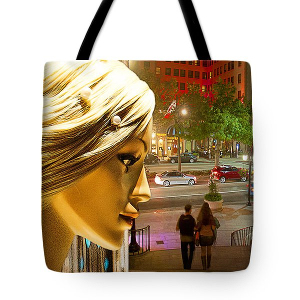 All Dressed Up and No Place To Go Tote Bag by Chuck Staley