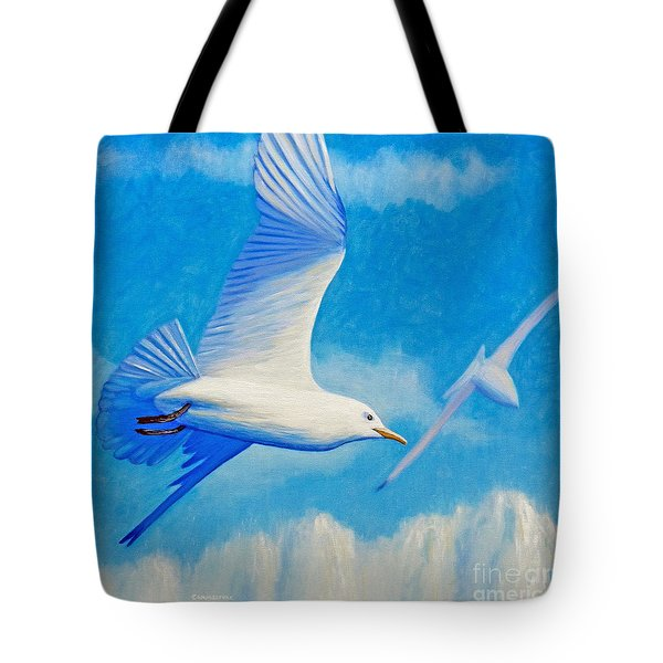 All Fly Home Tote Bag by Brian  Commerford