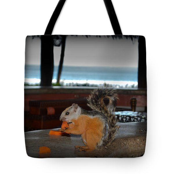 All Inclusive Squirrel Tote Bag by Gary Keesler
