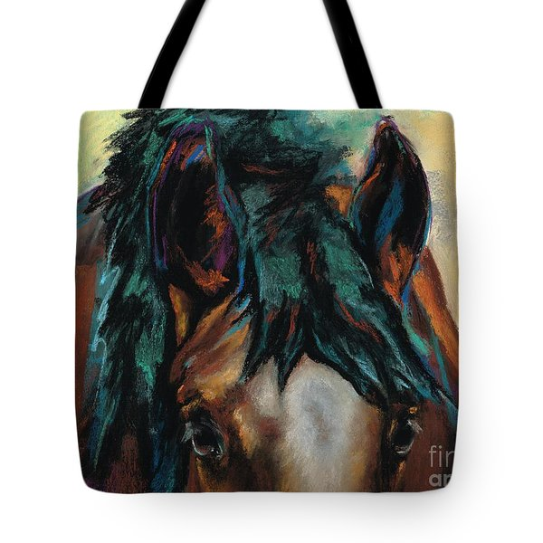 All Knowing Tote Bag by Frances Marino