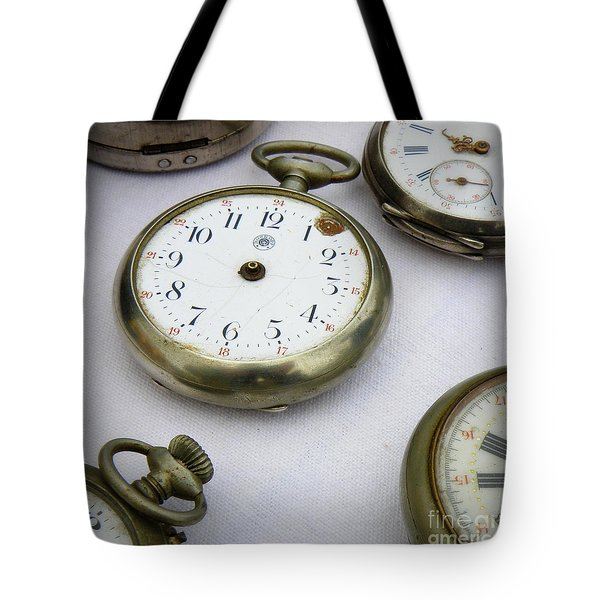 All Out Of Time Tote Bag by Lainie Wrightson