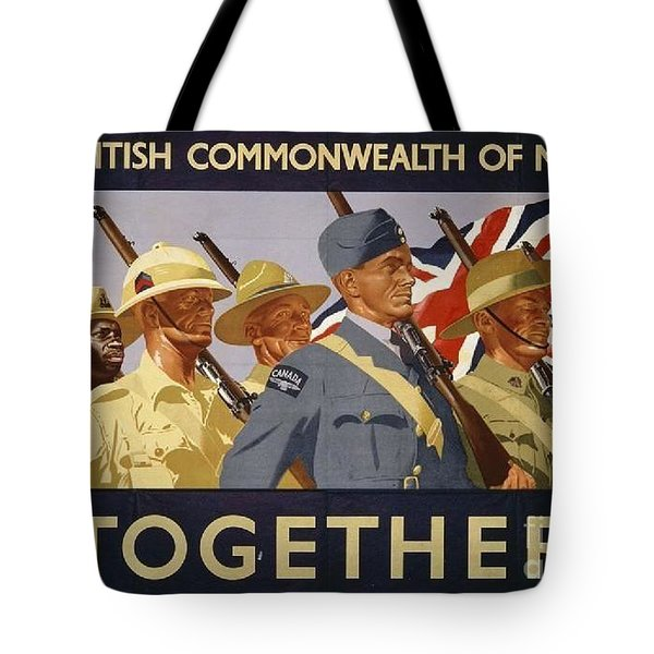 All The Commonwealth Countries Unite. Tote Bag by Paul Fearn