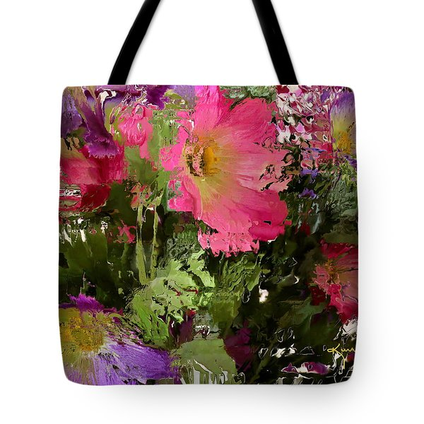 All The Flower Petals In This World 3 Tote Bag by Kume Bryant