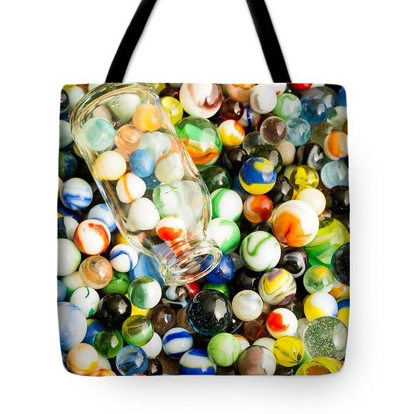 All the marbles Tote Bag by Edward Fielding