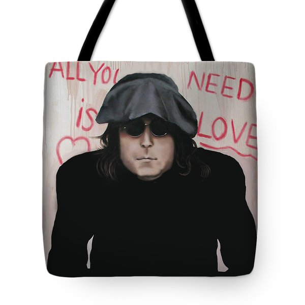 All You Need Is Love Tote Bag by Anthony Falbo