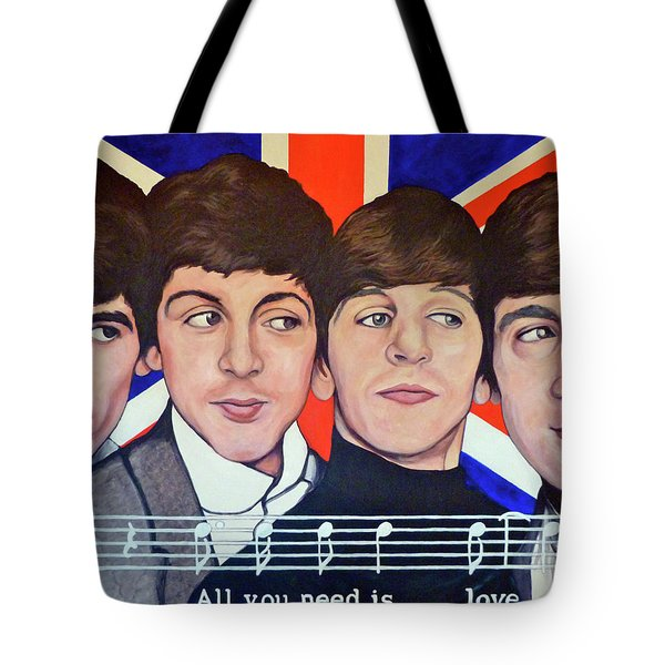 All You Need is Love  Tote Bag by Tom Roderick