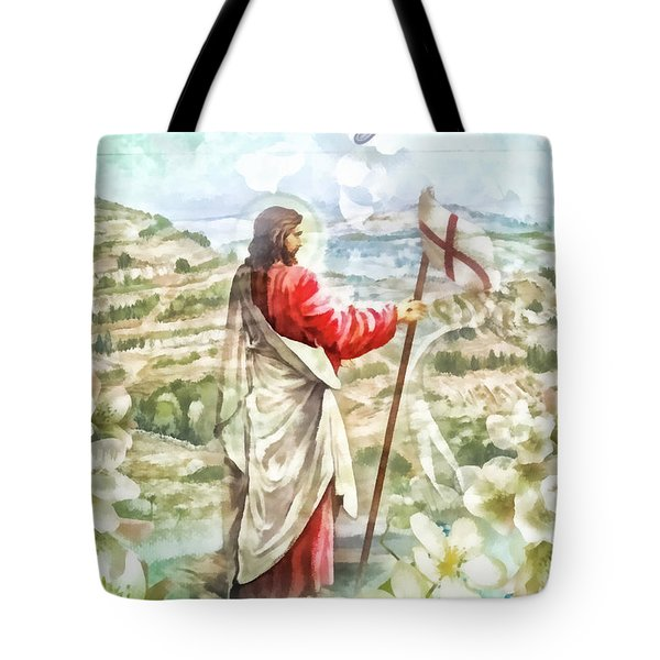 Alleluja Tote Bag by Mo T