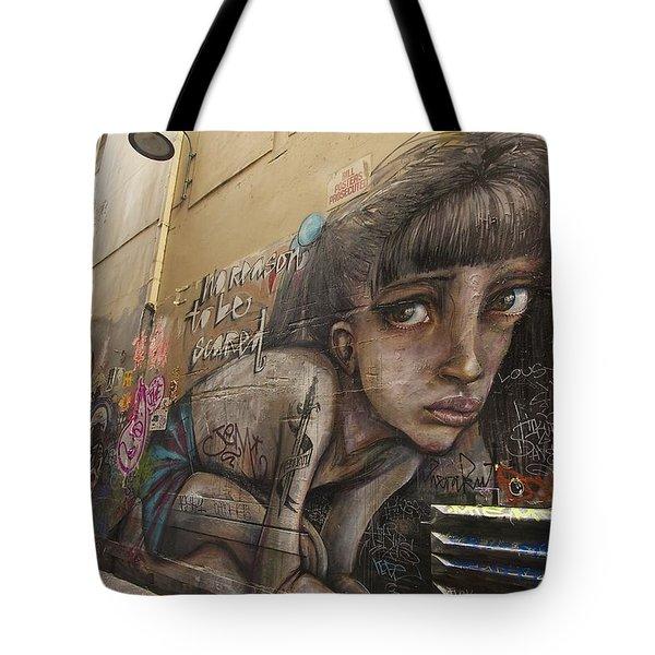 Alley Graffiti #2 Tote Bag by Stuart Litoff