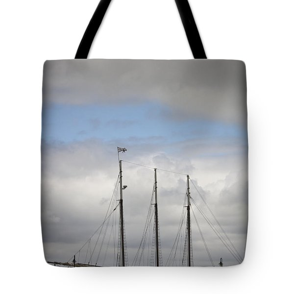Alliance Charter Schooner Tote Bag by Teresa Mucha