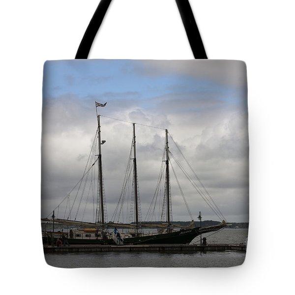 Alliance Schooner Tote Bag by Teresa Mucha