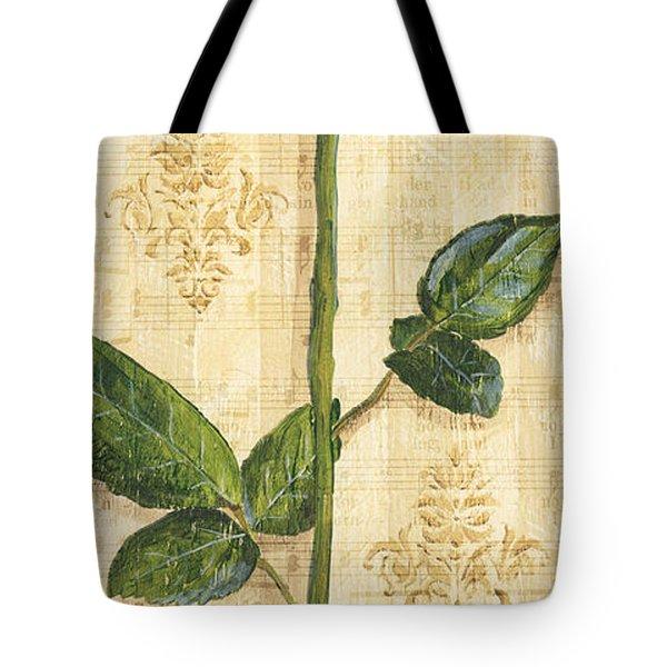 Allie's Rose Sonata 1 Tote Bag by Debbie DeWitt