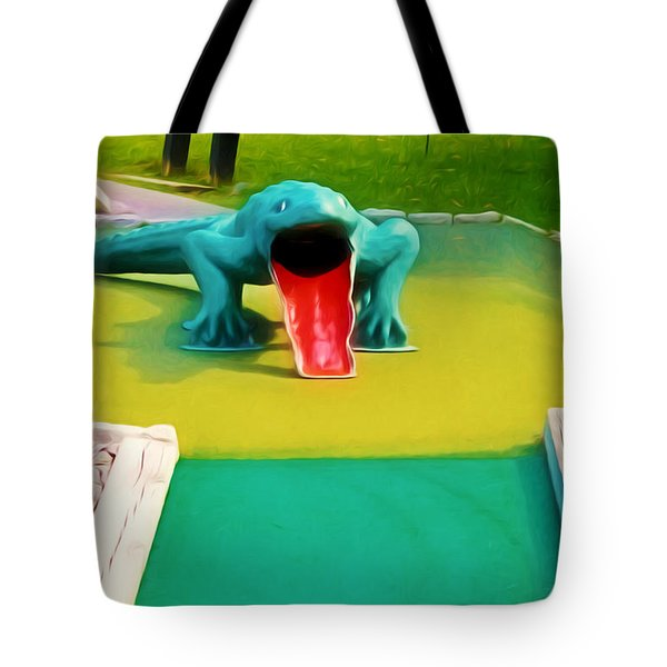 Alligator Tote Bag by Lanjee Chee