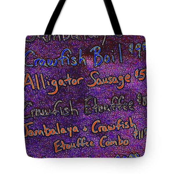 Alligator Sausage For Five Dollars 20130610 Tote Bag by Wingsdomain Art and Photography