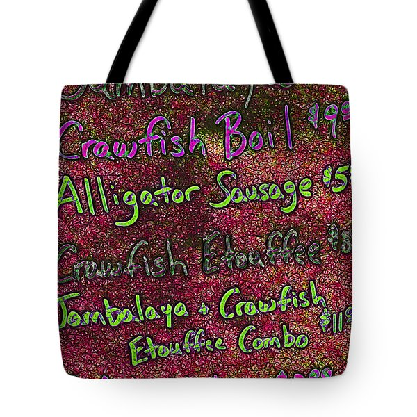 Alligator Sausage For Two Dollars 20130610p68 Tote Bag by Wingsdomain Art and Photography
