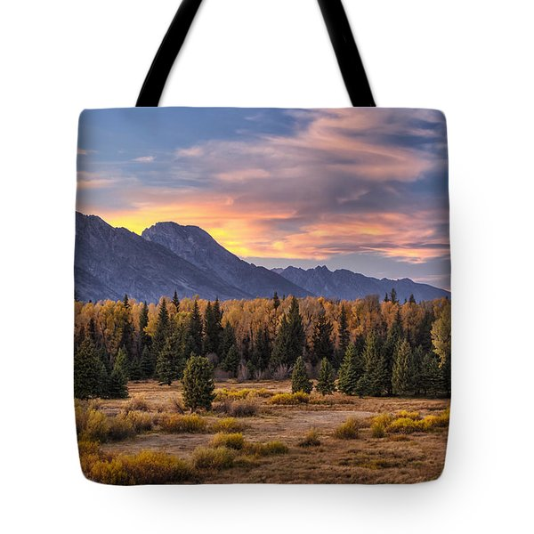 Alluring Conclusion Tote Bag by Mark Kiver