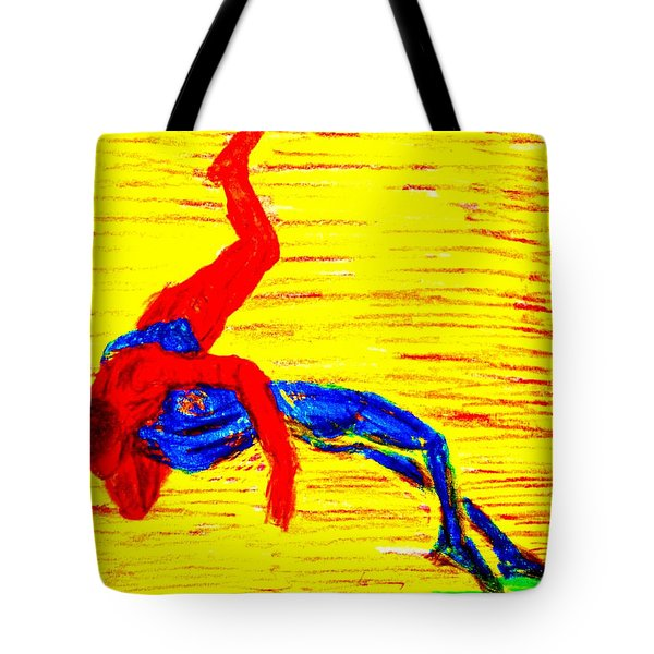 Almost Flying Tote Bag by Hilde Widerberg