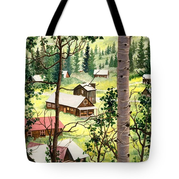 Almost Heaven Tote Bag by Barbara Jewell