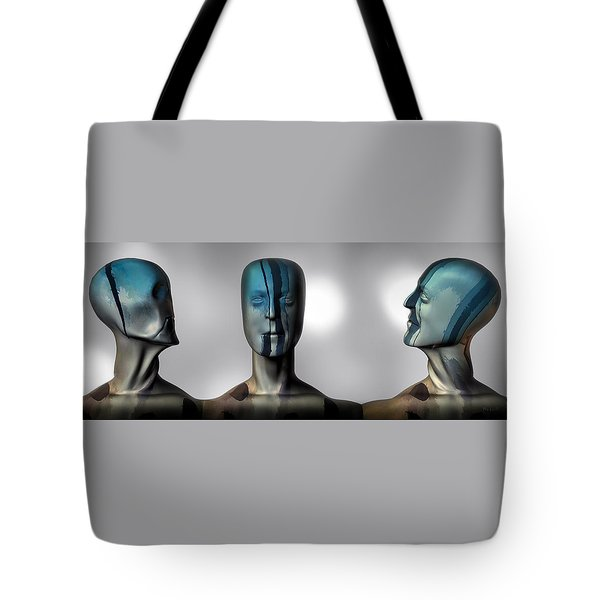 Almost Man In The Middle Tote Bag by Bob Orsillo