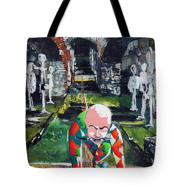 Almost Safe Among The Fittest Tote Bag by Elisabeta Hermann