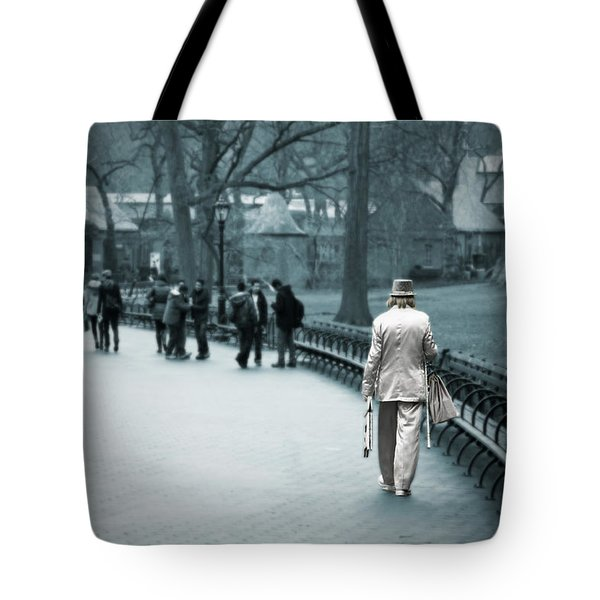 Alone Tote Bag by Joanna Madloch