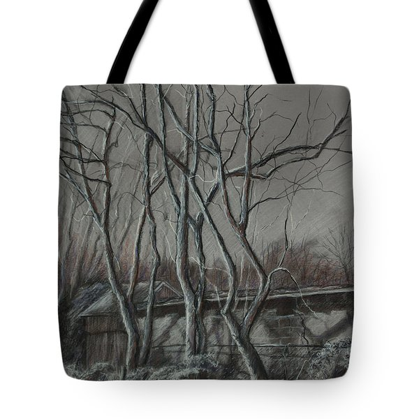 Along The Greenway 2 Tote Bag by Janet Felts