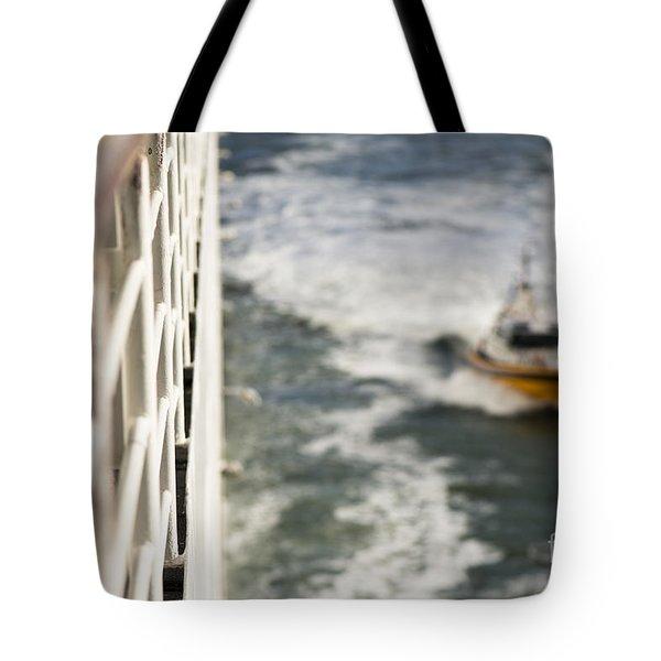 Alongside Tote Bag by Anne Gilbert