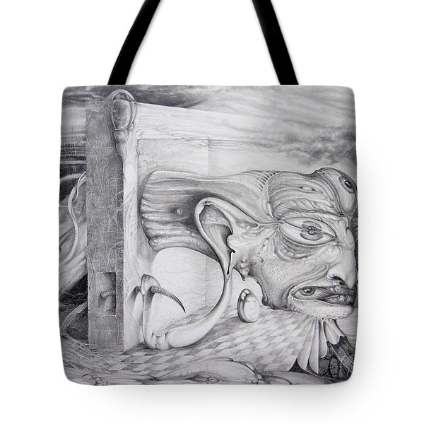 Alpha And Omega - The Reconstruction Of Bogomils Universe Tote Bag by Otto Rapp